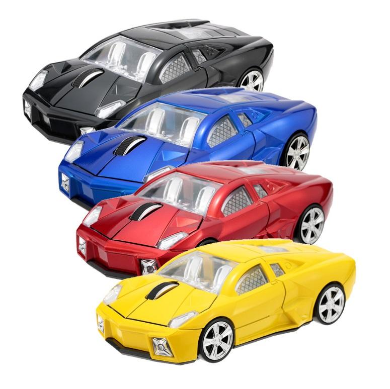 Bezdrátová myš - Auto