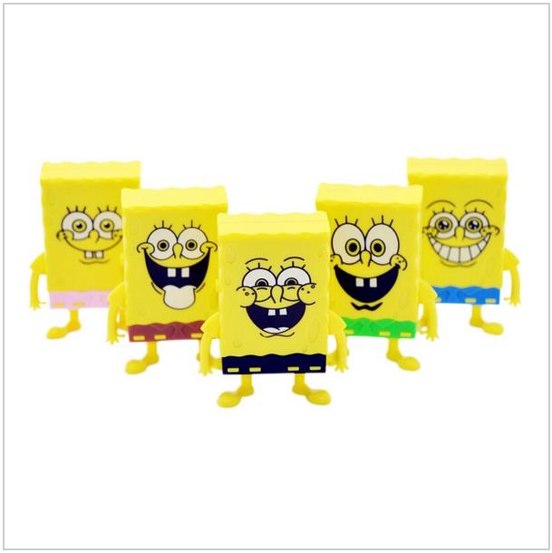 Mini MP3 přehrávač - SpongeBob