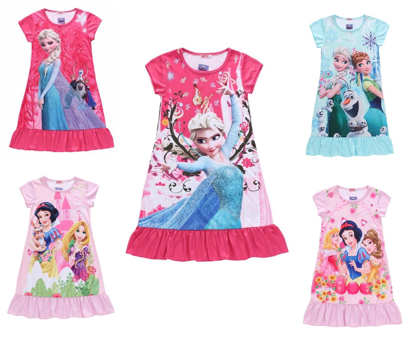 Dětské šaty - Ledové království