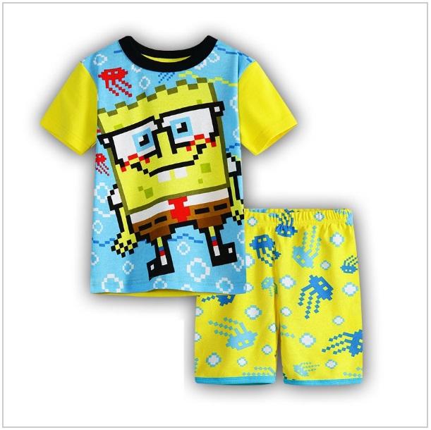 Dětské tričko a kraťasy - SpongeBob
