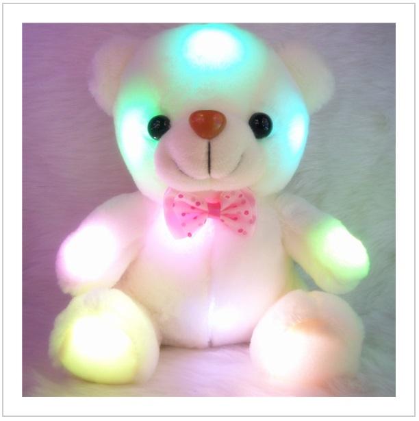 Plyšová hračka - svítící medvídek