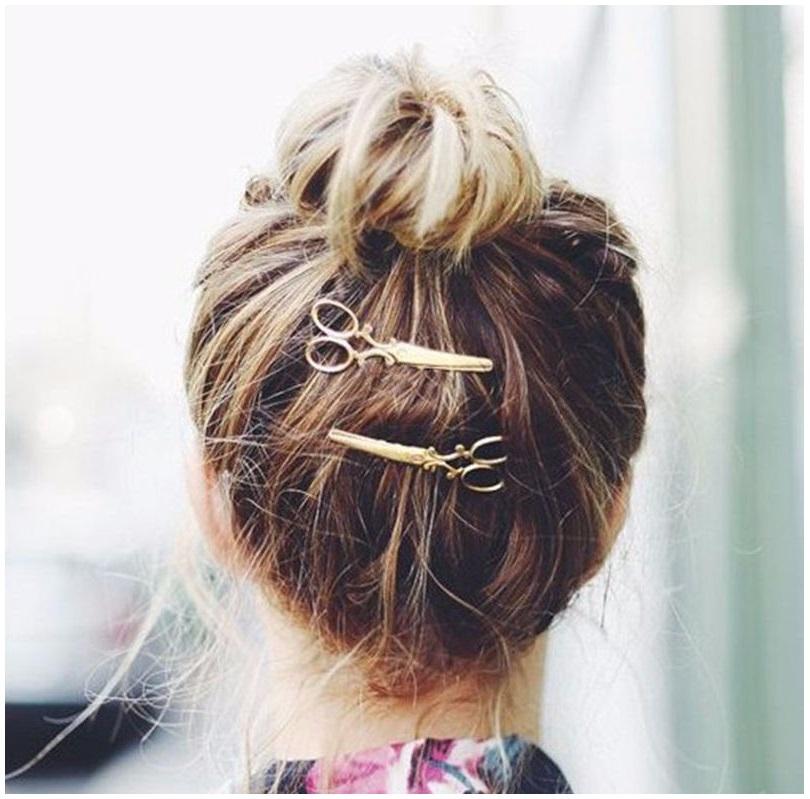 Sponka do vlasů - nůžky