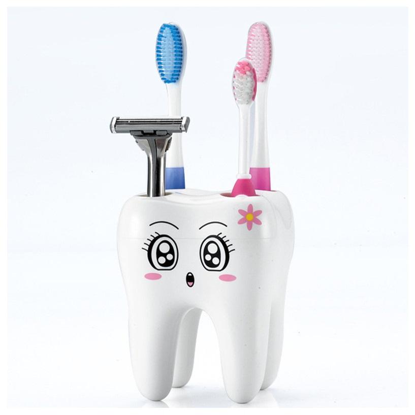 Držák na zubní kartáčky - Zub