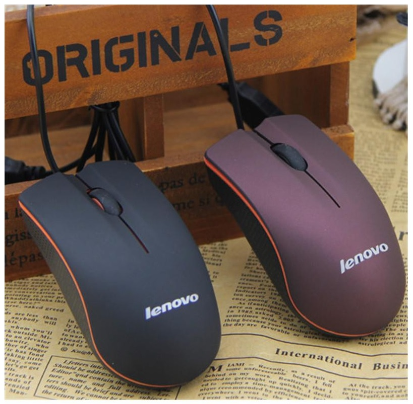 Kabelová myš - Lenovo