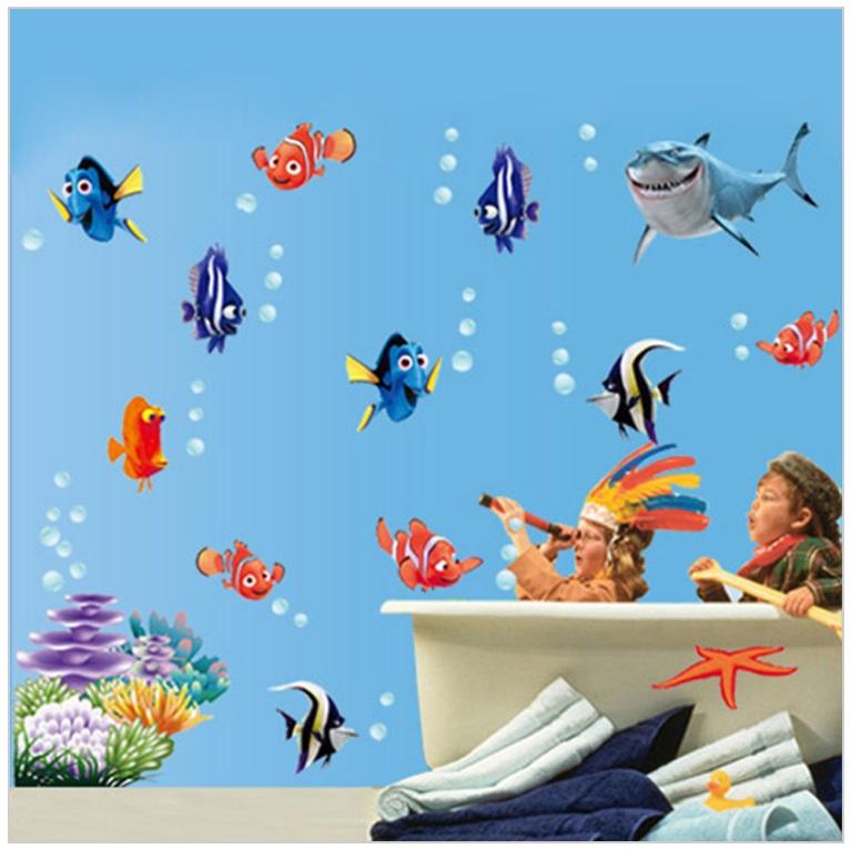 Dekorace na zeď - Nemo