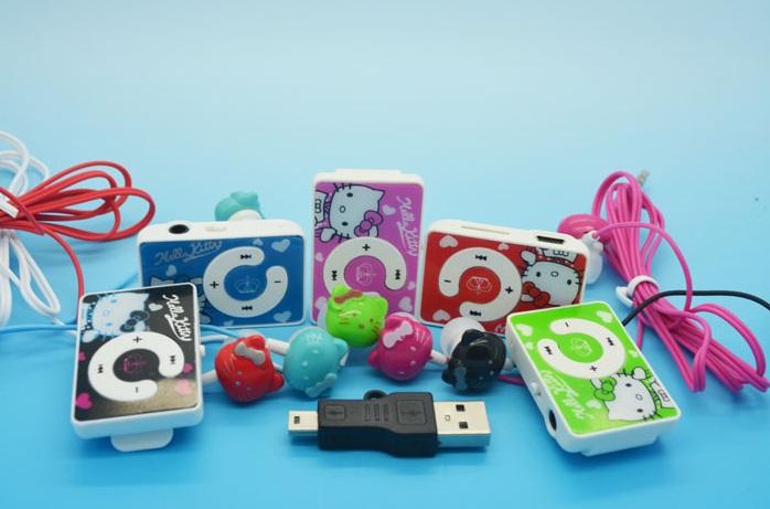 """MP3 přehrávač """"Hello Kitty"""""""