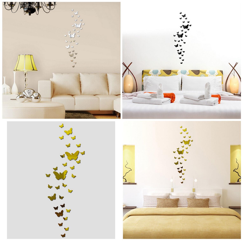 Samolepící dekorace na zeď - Motýli (30 ks)