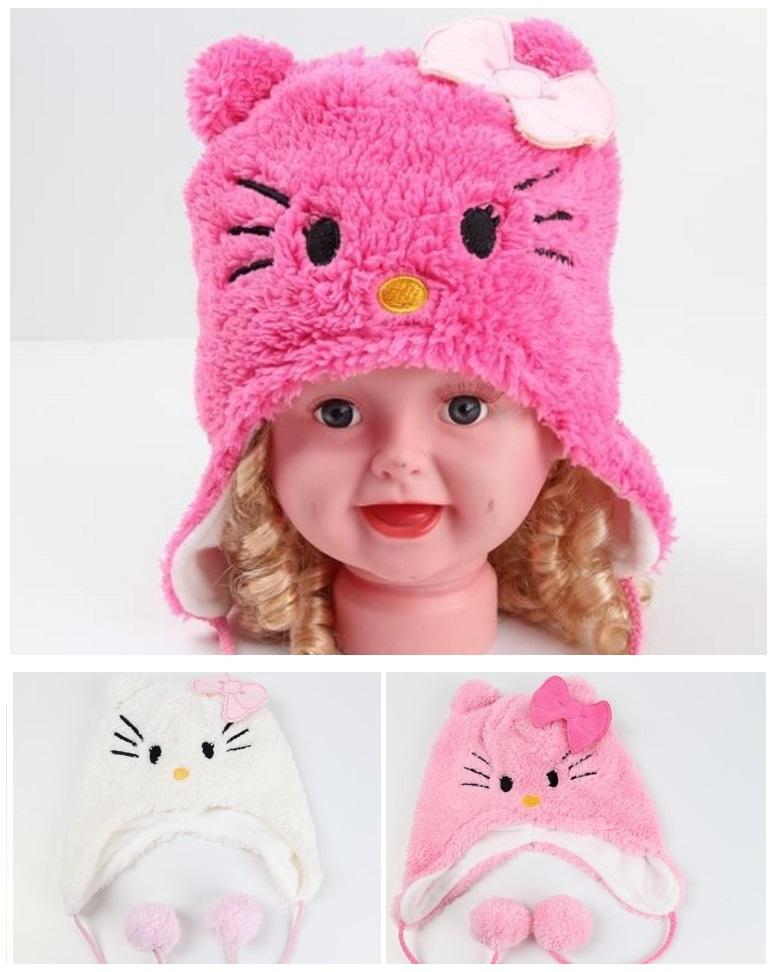 Dětská čepice - Hello Kitty