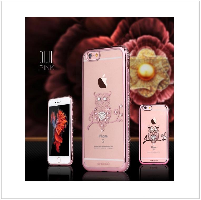 Pouzdro na mobil iPhone - Sova