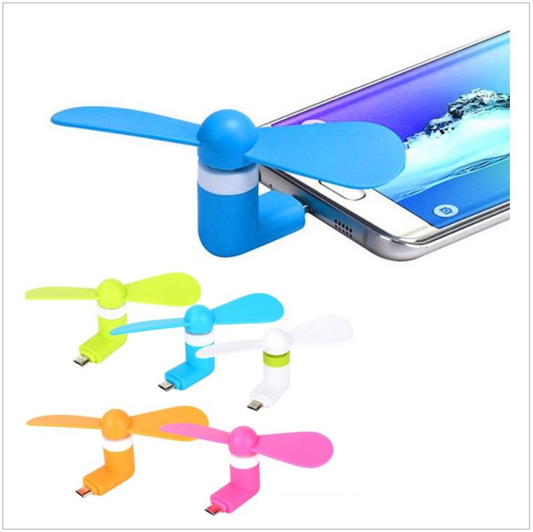 Mini větráček do mobilu