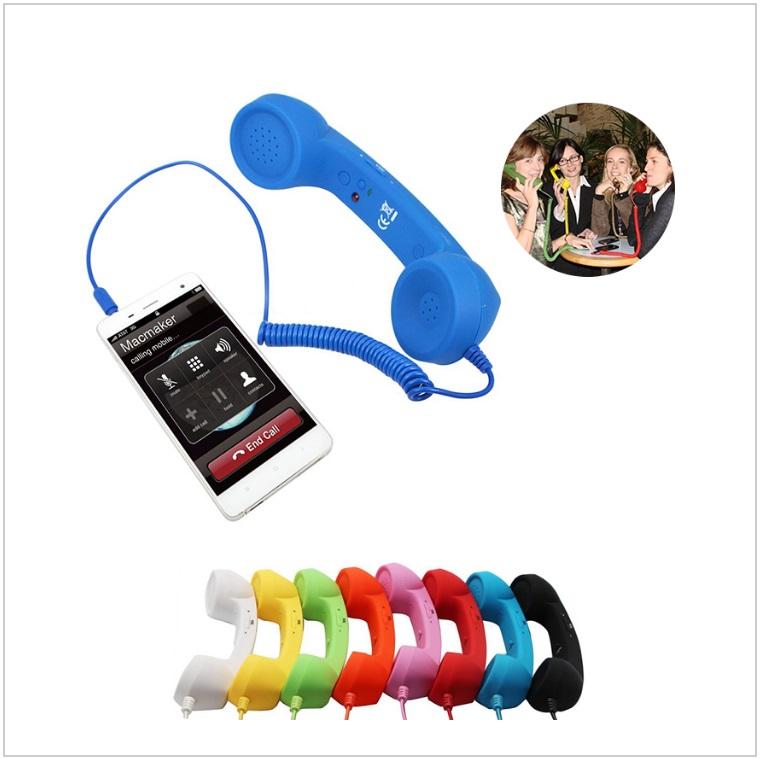 Retro - telefonní sluchátko k mobilu