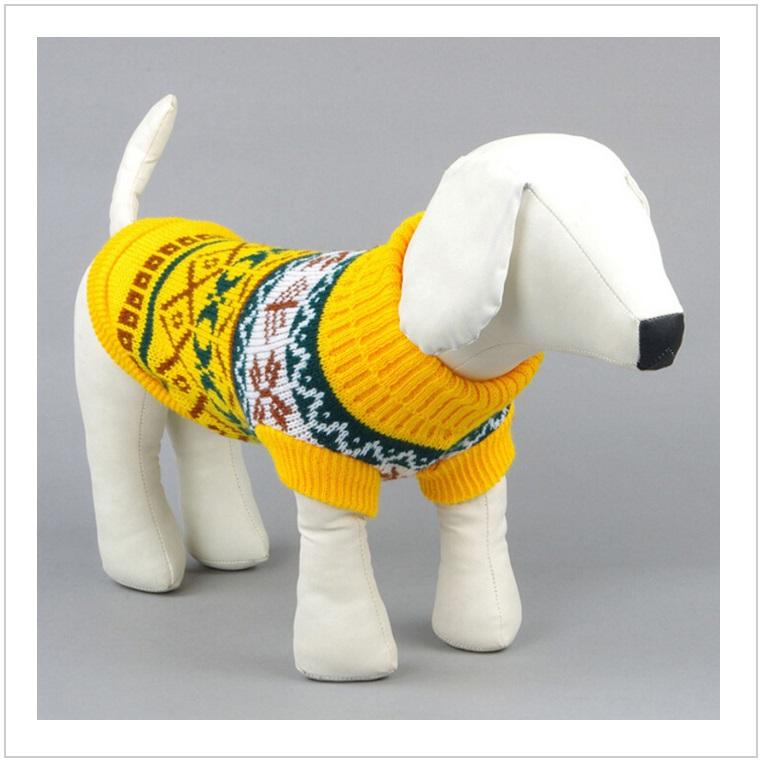 Pletený svetr pro psy
