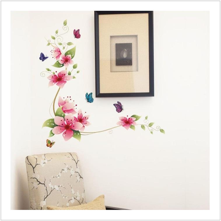 Dekorace na zeď - Květ