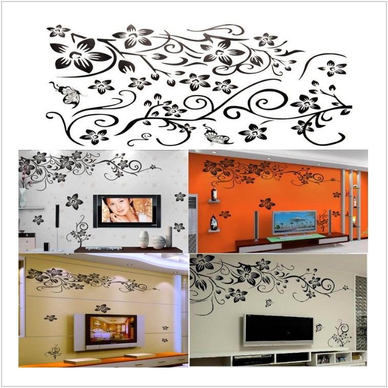 Dekorace na zeď - Květy