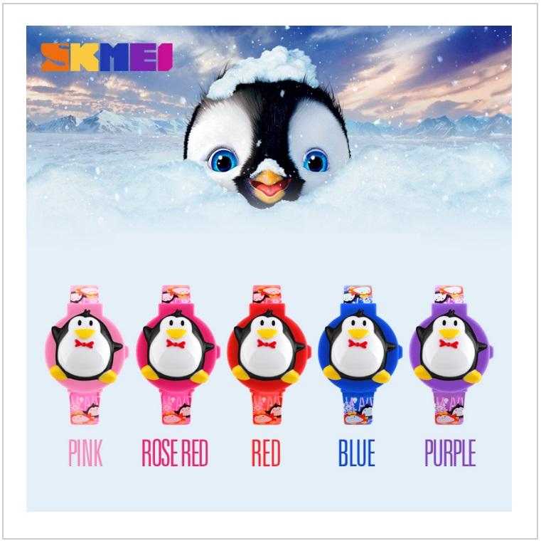 Dětské hodinky - tučňák