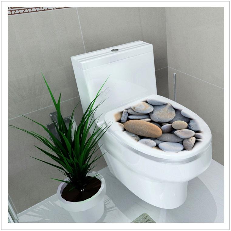 Samolepka na záchodové prkénko