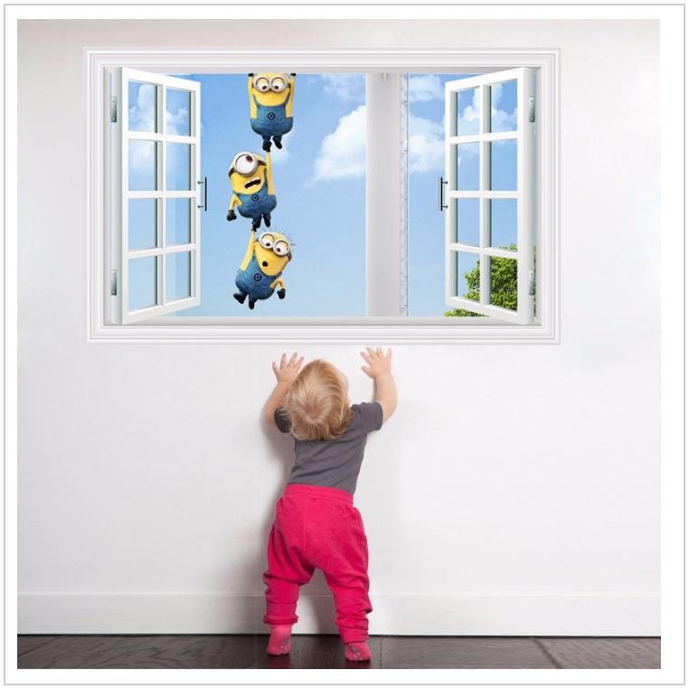 Samolepka na zeď - Mimoň
