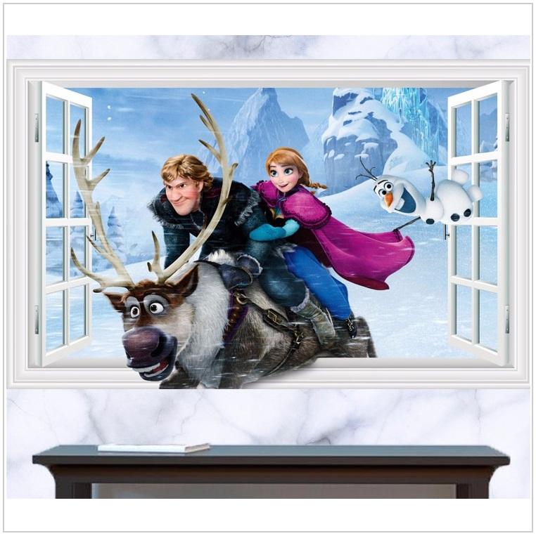 Dětská tapeta na zeď - Ledové království