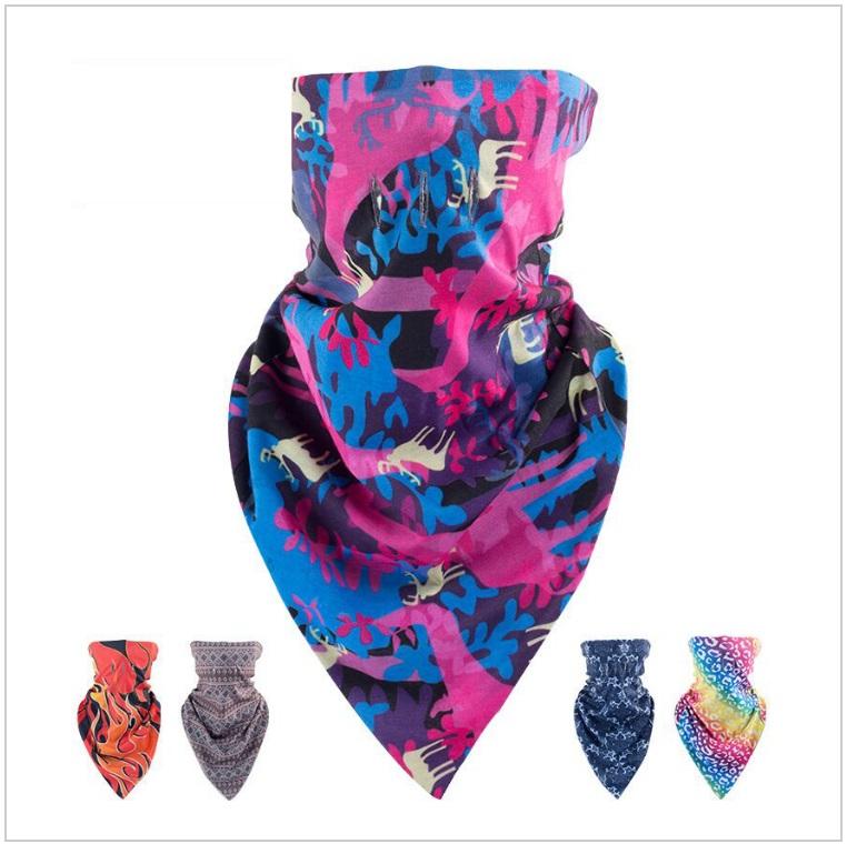 Sportovní šátek - polokukla