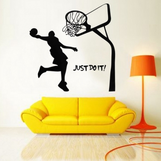 "Samolepící tapeta - Basketbal ""Just Do It"" / 35-00010"